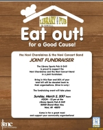 Eat Out For a Good Cause Flyer