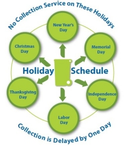 Holiday Schedule Graphic