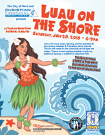 Luau on the Shore Flyer