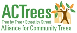 Alliance for Community Trees logo