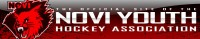 Novi Youth Hockey Association logo