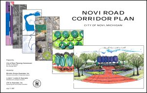Novi Road Corridor Report Cover