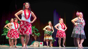 Hawaiian Polynesian Dancers