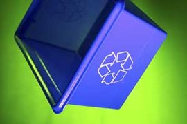 Recycle Bin with Recycle Logo