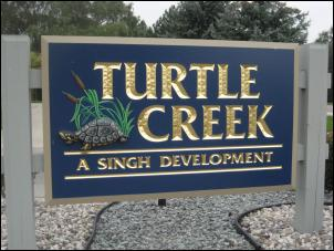 Turtle Creek Sign
