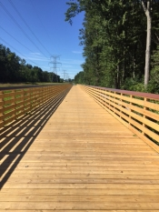 ITC Corridor Trail Boardwalk