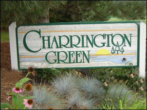 Charrington Green Subdivision Sign