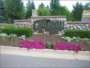 Tollgate Woods Entrance Sign