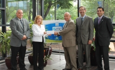 Presentation of ITC Check to Mayor Gatt
