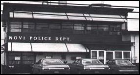 Original Novi Police Department Building